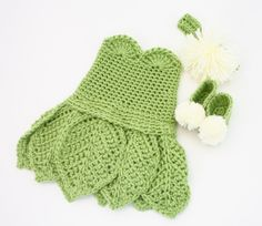 Baby Newborn Costume PATTERN Crochet Baby Outfit von KnitsyCrochet, $4,50