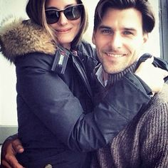 Olivia Palermo and Johannes Huebl in Courchevel l March, 2014