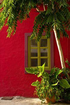 Window, Fiskardo by jaybeepea ~ Greece