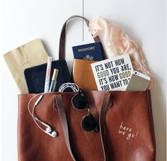 Don't forget a thing in your carry-on!