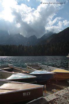 Laghi di Fusine in autunno - Friuli Venezia Giulia #lakes #Friuli #Italy