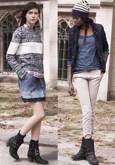 Hilfiger Denim 2013-2014 Fall Winter Lookbook - Tommy Hilfiger 2013-2014 Autumn Mens Womens: Designer Denim Jeans Fashion: Season Collections, Runways, Lookbooks and Linesheets