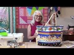 Laura Coia shows us how to sew a large beach bag with, you guessed it, some 100% Cotton 3 strand rope for handles.