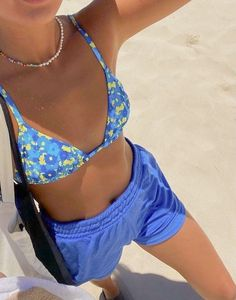 Cool Outfits, Summer Outfits, Fashion Outfits, Fashion Hair, Fashion Ideas, Fashion Trends, Cute Swimsuits, Ootd, Cute Bathing Suits