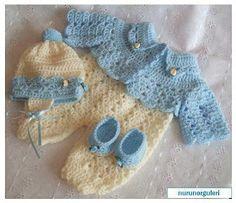 Mary Helen artesanatos croche e trico: Conjuntos bebê