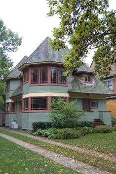 Frank Lloyd Wright ~ Thomas H. Gale House • 1027 Chicago Ave. • Oak Park • IL