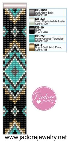 off loom beading techniques Loom Bracelet Patterns, Peyote Stitch Patterns, Beading Patterns Free, Bead Loom Bracelets, Bead Loom Patterns, Beaded Jewelry Patterns, Weaving Patterns, Beading Ideas, Embroidery Patterns
