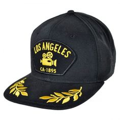 Goorin Bros Los Angeles Snapback Baseball Cap Snapback Hats The Goorin  Bros. Los Angeles is a cotton snapback baseball cap designed with an  embroidered ... 313e53e1016