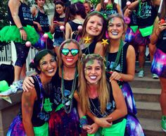 Kappa Delta is out of this world Bid Day 2015 MSU