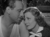 "Irene Dunne with Melvyn Douglas in ""Theodora Goes Wild. """