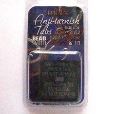 anti-tarnish pads for silver jewellery