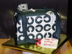 Coach Purse with Money To Spend! by SweetsByMonica
