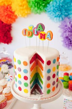 Looking For The Perfect Rainbow Layer Cake A Birthday Baby Shower Wedding Or Special Celebration These 10 Amazing Cakes Will Blow You