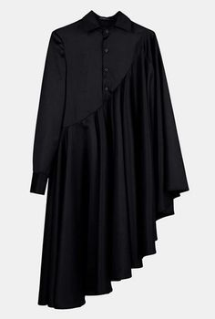 Bat Sleeve Loose Fit Cape-Style Blouse Shirt Asymmetrical pleated Skirt Dress Tunic - Dresses for Work Kurta Designs, Blouse Designs, Abaya Fashion, Muslim Fashion, Fashion Dresses, Abaya Mode, Mode Hijab, Pleated Skirt, Dress Skirt
