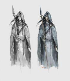 ARNIE JORGENSEN - The Banner Saga:Concept Sketch Juno