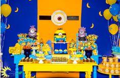 Encontrando Ideias: Festa Minions!!!