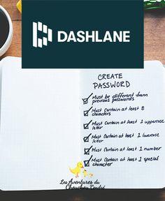 Dashlane, gestionnaire de mots de passe Navigateur Web, Blog, Web Development, Words, Blogging