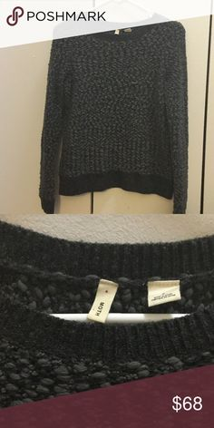 Sweater Wool-blend woven sweater - worn once - from Anthropologie Moth Sweaters Crew & Scoop Necks
