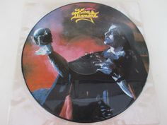 1986 ROADRUNNER KING DIAMOND HALLOWEEN     PICTURE PHOTO DISC RECORD LP