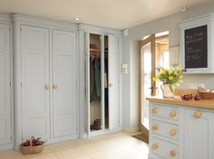 Utility/Boot room by Mark Wilkinson Furniture