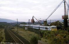 br blue - Google Search Electric Locomotive, Diesel Locomotive, Abandoned Train, British Rail, Bournemouth, Golden Gate Bridge, Transportation, Metal Processing, The Unit