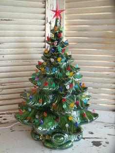 Ceramic Christmas Trees On Pinterest Ceramic Christmas