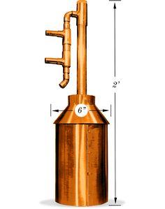 1 Gallon Copper Moonshine Still Kit
