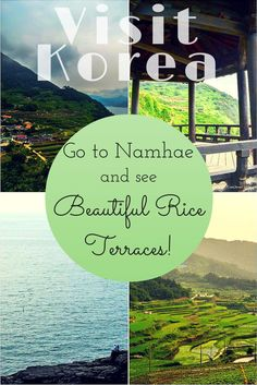 Visit Korea and Go to Namhae for its Beautiful Rice Terraces!