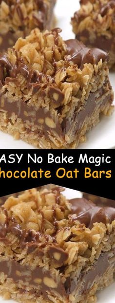 EASY No Bake Magic Chocolate Oat Bars INSPIRATION ...c granulated white sugar 1 12 T cornstarch 1 oz unsweetened baking chocolate grated or chopped 12 c boiling water Dash of saltWhile water is boiling i...os available to help you get comfortable before you ever go into the kitchen Gain experience by starting with a simple recipe and those resources will #dessertchronicle.com #desserts-no-bake-chocolate #lovedesserts Chocolate Oat Bars Recipe, No Bake Chocolate Desserts, Magic Chocolate, Chocolate Oatmeal, No Bake Desserts, Easy Desserts, Delicious Desserts, Dessert Recipes, White Chocolate