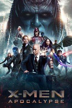 """http://newmovies2016.online/movies/x-men-apocalypse/  Poster for the movie """"X-Men: Apocalypse""""  Storyline  Since the dawn of civilization, he was worshipped as a god. Apocalypse, the first and most powerful mutant from Marvel's X-Men universe, amassed the powers of many other mutants, becoming immortal and invincible. Upon awakening after thousands of years, he is disillusioned with the world as he finds it and recruits a team of powerful mutants, including a disheartened Magneto, to cleanse"""