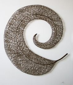 Meredith Woolnough | Embroidered sculpture