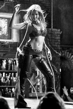 Jessica Alba B&W Poster Sin City Bikini