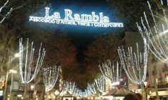 La Rambla in Barcelona, Cataluña