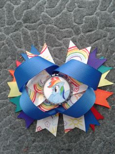 Mlp stacked bow #cofbeads