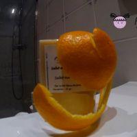 Sabó natural amb oli d'oliva verge i oli essencial de taronja