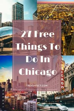 Traveling to Chicago on a budget? Here's a list of the best and most awesome free things to do in Chi-Town.