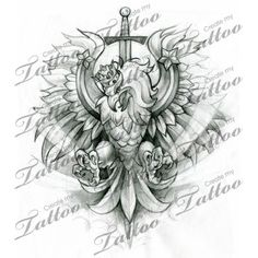Here at Create My Tattoo, we specialize in giving you the very best tattoo ideas and designs for men and women. Polish Eagle Tattoo, Tattoo Eagle, Polish Tattoos, S Tattoo, Sleeve Tattoos, Cool Tattoos, Polish Symbols, Poland Tattoo, Create My Tattoo