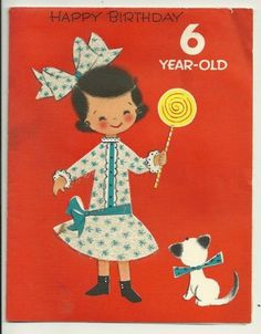 VINTAGE BIRTHDAY CARD BY FORGET ME NOT USED GLITTER