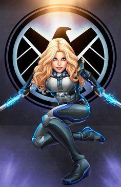 Mockingbird - Agent of S.H.I.E.L.D. by JamieFayX via: http://jamiefayx.deviantart.com/