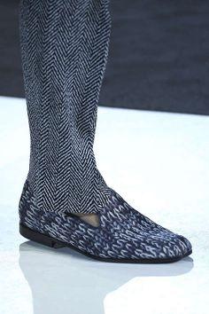 Giorgio Armani Spring/Summer Men's Shoes Collection 2014