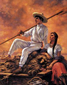 Jesús Helguera 1910-1971 | Mexican Classical painter Mexican Artwork, Mexican Folk Art, Mexican Paintings, Jesus Helguera, Jorge Gonzalez, Hispanic Art, Mexican Colors, Latino Art, Mexican Heritage