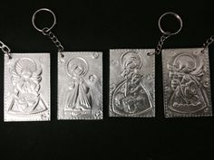 Hobbies And Crafts, Diy And Crafts, Pewter Art, Metal Embossing, Metal Engraving, Mexican Art, Sheet Metal, Metal Crafts, The Hobbit