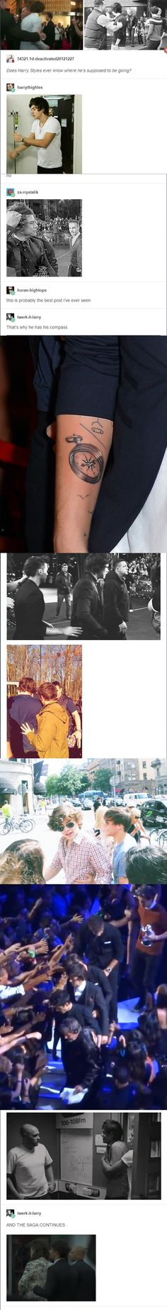 Oh my god, plz someone help me. I just can't hold back my tears.... LARRY FUCKING STYLINSON