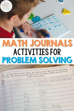 Teachers, come read about how to use journalling in your math lessons! This easy to use resource is great for assessments, higher order thinking, and more. Learn how to use this low-prep idea in your classroom with your students. I have even included examples of my students using this amazing problem solving tool.