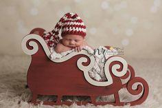 Sleigh Photo Prop Christmas Photo Prop Newborn par MrAndMrsAndCo