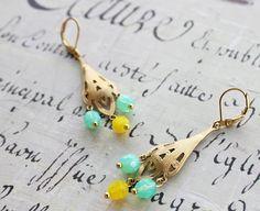 Boho Summer Chandelier Earrings