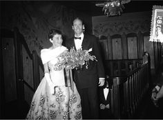 Audrey Hepburn and Mel Ferrer attend the Netherlands' premiere of Sabrina, November Audrey Hepburn is wearing the same Givenchy ball gown that she wore in the film. Photograph by Jack Garofalo. Golden Age Of Hollywood, Vintage Hollywood, Classic Hollywood, Hollywood Sign, Sabrina 1954, Sabrina Dress, Audrey Hepburn Photos, My Fair Lady, British Actresses