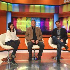 """Entrevista de Daniel Illana a los fundadores de urbecom.com en el programa de OndaJaén """"Vive la tarde"""", dentro del espacio de nuestra community manager @chrisaparicio Aparicio"""
