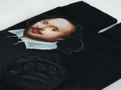 Portraits - William Shakespeare | JHJ Design - The Art of Wearing Socks