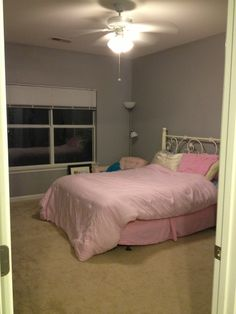 Behr French Silver In Bedroom Updating The House Pinterest Behr French Silver Bedrooms And Spare Room